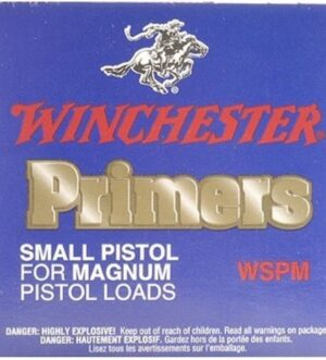 Winchester Small Pistol Magnum Primers #1-1/2M Box of 1000 (10 Trays of 100)