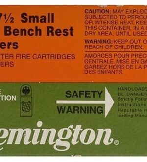 Remington Small Rifle Bench Rest Primers #7-1/2 Box of 1000 (10 Trays of 100)