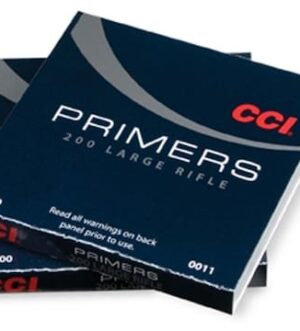 CCI Large Rifle Primers #200 Box of 1000 (10 Trays of 100)