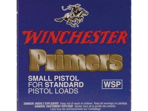 Winchester Small Pistol Primers #1-1/2 Box of 1000 (10 Trays of 100)