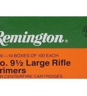 Remington Large Rifle Primers #9-1/2 Box of 1000 (10 Trays of 100)