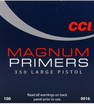 CCI Large Pistol Magnum Primers #350 Box of 1000 (10 Trays of 100)