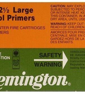 Remington Large Pistol Primers #2-1/2 Box of 1000 (10 Trays of 100)