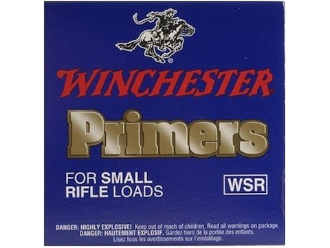 Winchester Small Rifle Primers #6-1/2 Box of 1000 (10 Trays of 100)