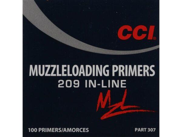 CCI Primers #209 Muzzleloading Box of 100