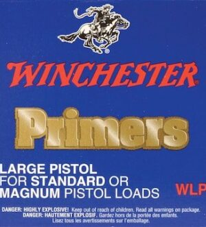 Winchester Large Pistol Primers #7 Box of 1000 (10 Trays of 100)