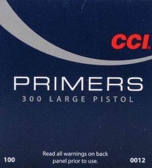 CCI Large Pistol Primers #300 Boxes of 1000 - Blemished