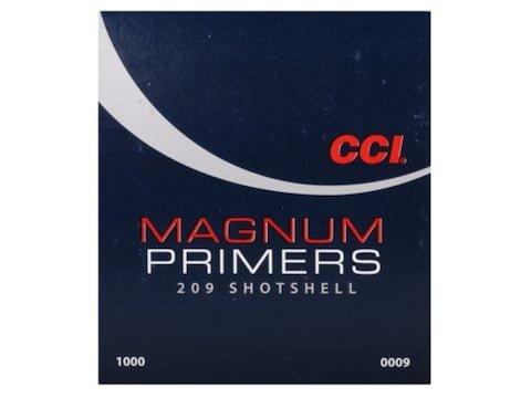 CCI Primers #209M Shotshell Magnum Box of 1000 (10 Trays of 100)