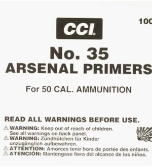 CCI 50 BMG Primers #35 Box of 500 (5 Trays of 100)