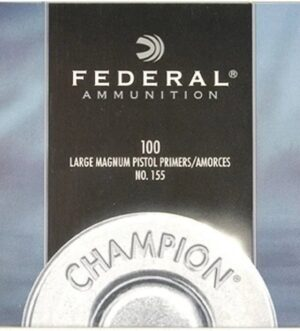 Federal Large Pistol Magnum Primers #155 Box of 1000 (10 Trays of 100)