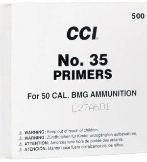 CCI 50 BMG Military Primers #35