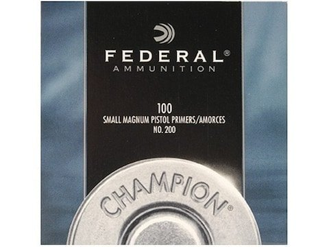 Federal Small Pistol Primers #100 Box of 1000 (10 Trays of 100)