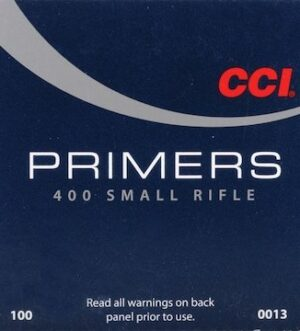 CCI Small Rifle Primers #400 Box of 1000 (10 Trays of 100)
