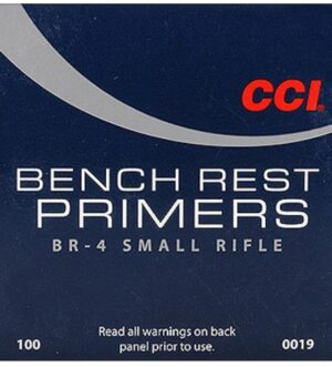 CCI Small Rifle Bench Rest Primers #BR4 Box of 1000 (10 Trays of 100)