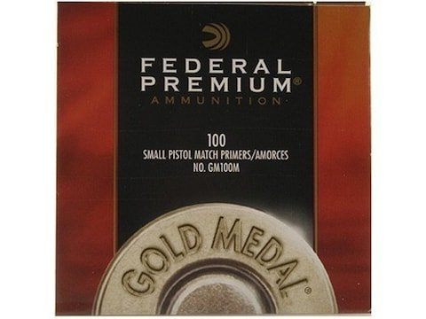 Federal Small Pistol Magnum Primers #200 Box of 1000 (10 Trays of 100)