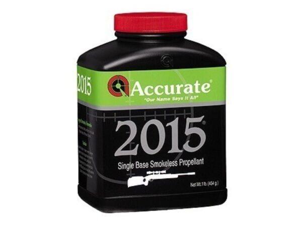 Accurate 2015 Smokeless Gun Powder