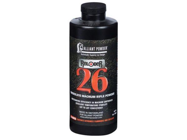 Alliant Reloder 26 Smokeless Gun Powder