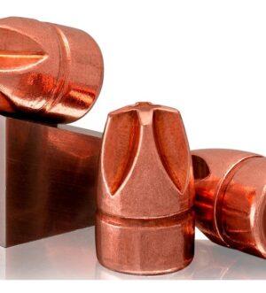 Lehigh Defense Xtreme Defense Bullets 9mm (355 Diameter) 90 Grain Solid Copper Enhanced Fluid Transfer Monolithic Lead-Free Box of 100