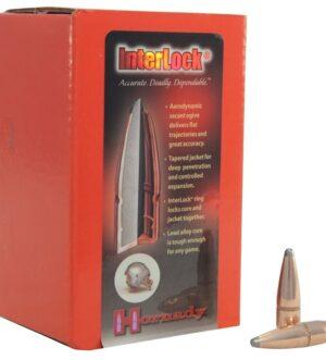 Hornady InterLock Bullets 30 Caliber (308 Diameter) 165 Grain Spire Point Boat Tail Box of 100