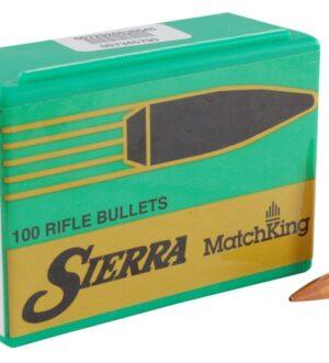 Sierra MatchKing Bullets 264 Caliber, 6.5mm (264 Diameter) 142 Grain Hollow Point Boat Tail