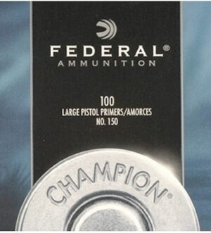 Federal Large Rifle Magnum Primers #215 Box of 1000 (10 Trays of 100)