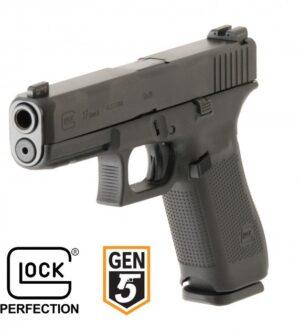 Glock G19 Gen5 – 9mmThe GLOCK 19 Gen5FS